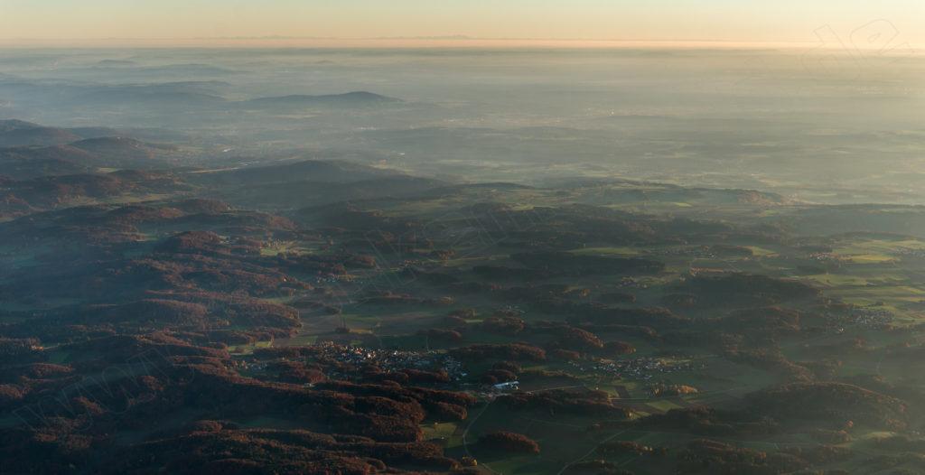 Herbstblick über Bayern
